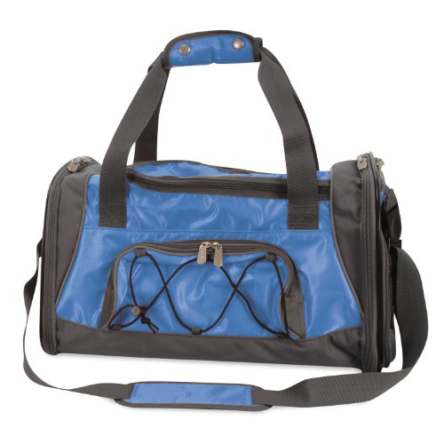 Sherpa Sport Duffle Pet Dog Cat Airline Approved Carrier Medium Blue 18″l X 11″wx 10.5″h