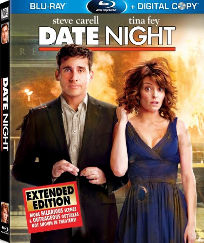 Cover art for  Date Night (Two-Disc Extended Edition + Digital Copy) [Blu-ray]