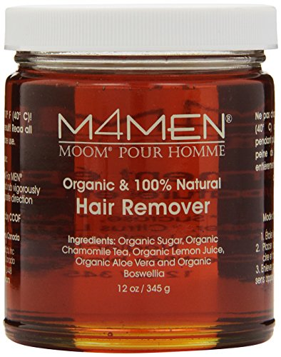 Moom For Men Organic Hair Remover Refill, 12-Ounce Jar (Hair Removal Male compare prices)