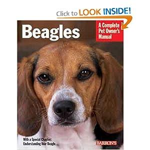 Beagles (Barron's Complete Pet Owner's Manuals) Lucia E. Parent