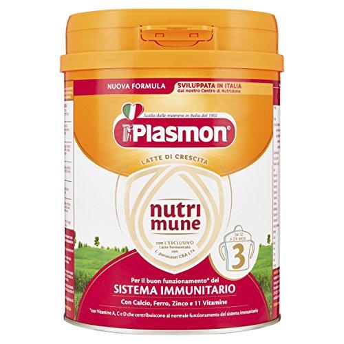 Plasmon Latte in Polvere Nutri Mune 3 - 750 gr