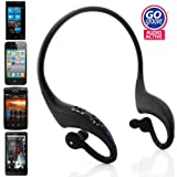 GOgroove AudioACTIVE Wireless Hands-Free Bluetooth Sports Stereo Earbud Headset For Motorola / Samsung / LG / Apple / HTC and More A2DP Enabled Smartphones