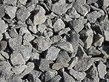 75 kg Anthrazit Basaltsplitt 16-32 mm - Basalt Splitt Edelsplitt