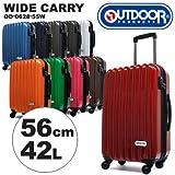 (アウトドアプロダクツ)OUTDOOR PRODUCTS アウトドアプロダクツスーツケース OD-0628-55W 56cm 【NAVY】