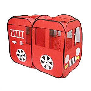 Intents Code Red Fire Truck Tent, Red from Intents