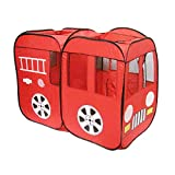 Intents Code Red Fire Truck Tent, Red