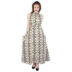 Tenn Women's Maxi Dress (CRPP11NSXS_Medium_Multi)