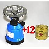 picknickkocher 8x190g butan gaskartuschen campingkocher. Black Bedroom Furniture Sets. Home Design Ideas