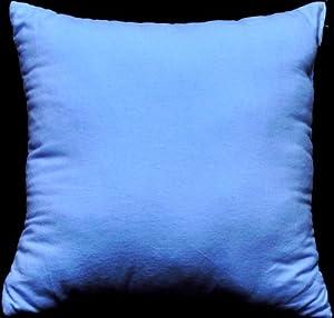 Amazon.com: NuAngel Decorative Throw Pillow - Periwinkle Blue 17