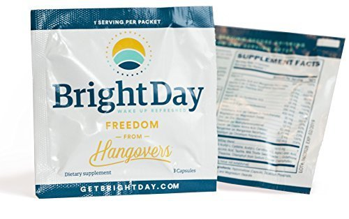 BrightDay Hangover Prevention Pills (Sample Packet)