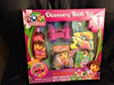 Dora the Explorer Bath Set w/ 60 Bath Fizzies Body Wash Binoculars + More!
