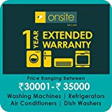 Onsite 1-year extended warranty for Large Appliance (Rs. 30001 to < 35000)