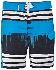 Protest Riston Short de bain Garçon Aqua Blue FR : 10 ans (Taille Fabricant : 140)