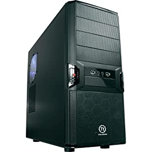 Thermaltake V3 Black Edition VL80001W2Z No PS Mid Tower Gaming Case (Black)