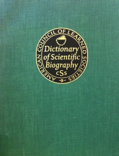 Dictionary Scientific Biography Vol 18: Vol. 18 (Dictionary Of Scientific Biography Supplement 2 Lebedev To Zwicky
