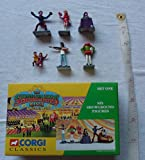 Corgi Classics - The Showmans Range - 6 Figure Set (Dodgem not included) - 1/50 Scale - Made in 1996 (Colours may vary)