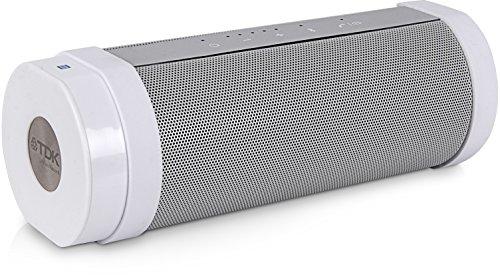 【Amazon.co.jp限定】TDK Life on Record Bluetoothワイヤレススピーカー アウトドアに強い防塵・防滴(IP65相当)・耐衝撃(IK07相当) NFC対応 TREK FLEXシリーズ フラストレーションフリーパッケージ (FFP) ホワイト AT-A28WH-FFP