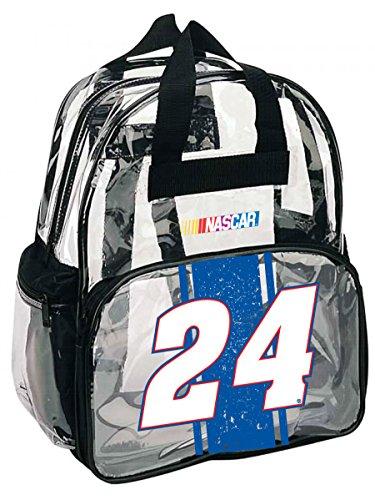 nascar-24-chase-elliot-clear-backpack-nascar-backpack-new-for-2016