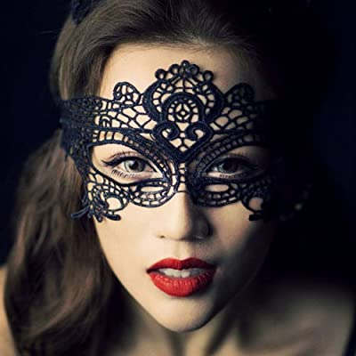 Womens Lace Sexy Venetian Masquerade Carnival Party Ball Face Eye Mask