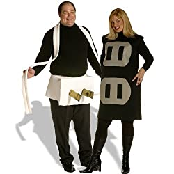Plug & Socket Couples Set Plus Adult Costume - Adult Costumes