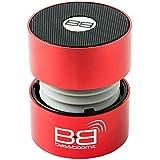 BassBoomz High Performance Portable Bluetooth Speaker - Red