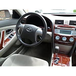 toyota camry interior wood dash trim kit set 2010 2011. Black Bedroom Furniture Sets. Home Design Ideas