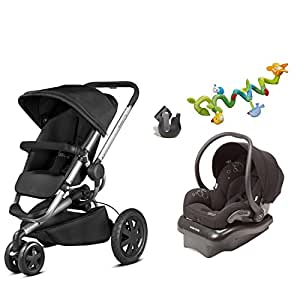 quinny buzz travel system buzz xtra stroller gracious grey maxi cosi mico ap. Black Bedroom Furniture Sets. Home Design Ideas