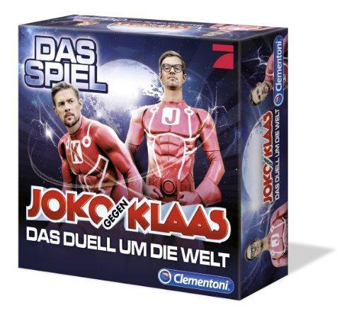Clementoni 69021.3 - Joko und Klaas - Das Duell um die Welt, Brettspiel hier kaufen