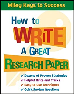 Research Writing: Elements and Steps