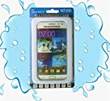 Deego® Fully Waterproof shockproof Dustproof Snowproof Water ResistantProtective Case Cover Hard-Shell Case for Samsung Galaxy Note 2 and Note 3 (C-White)