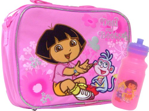 Dora the Explorer and Boots Insulated Lunch Bag &amp; Cup