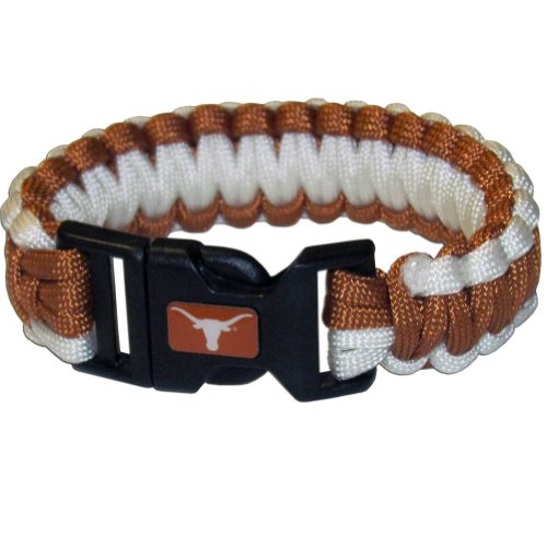 NCAA Texas Longhorns Survivor Bracelet, Large