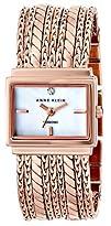 Anne Klein Womens Diamond-Accented Multi-Chain Bracelet Watch