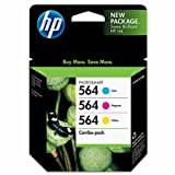 HP 564 Ink Cartridge in Retail Packagings- Combo Pack