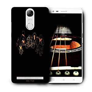Snoogg Eric Ellis Printed Protective Phone Back Case Cover For Lenovo K5 Note