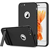 iPhone 6s Case, JETech Slim-Fit iPhone 6 Case with Self Stand for Apple iPhone 6 6s 4.7 (Black) - 3380
