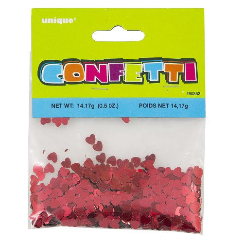 Foil Red Heart Confetti