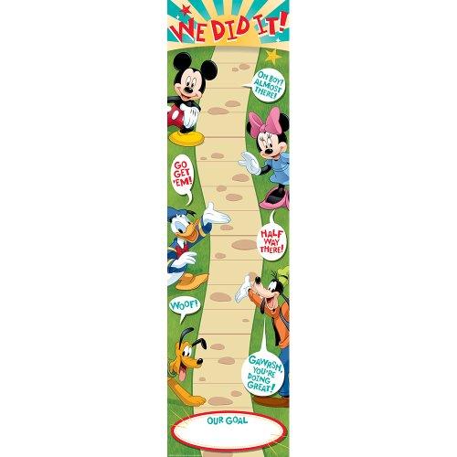 Eureka Mickey Goal Setting Vertical Banner