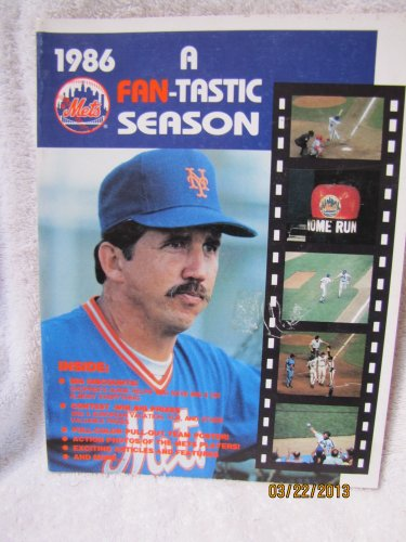 New York Mets 1986 A-fan-tastic Season Yearbook at Amazon.com