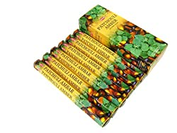 Hem Patchouli Amber Incense Sticks