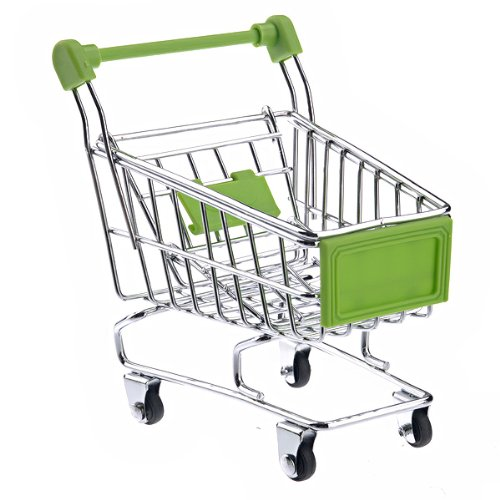 Generic Mini Shopping Cart Shaped Storage Basket
