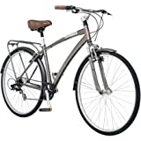 700c Schwinn Fifth Avenue Mens Hybrid Bike, Gray