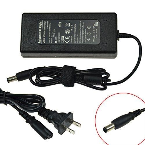 Power Supply+Cord for HP ProBook 4230S 4440S 4441S 4445S 4446S 4540S 4545S 4740S 6470B 6475B 6570B HP/Compaq 8620S NC6320 NC6400 NX6000 NX6325 NX9420FF (Hp Compaq Nc6400 Power Cord compare prices)