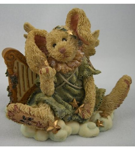 "Boyds Bearstone ""Celeste... The Angel Rabbit"" #2230"