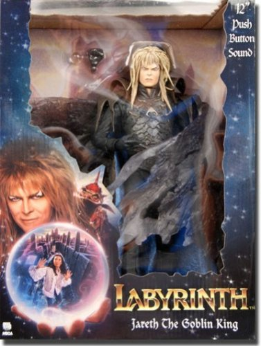 Labyrinth Jareth The Goblin King 12' Action Figure with Soun