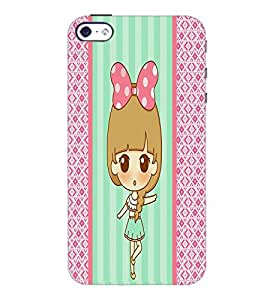 PrintDhaba cartoon D-3825 Back Case Cover for APPLE IPHONE 4S (Multi-Coloured)