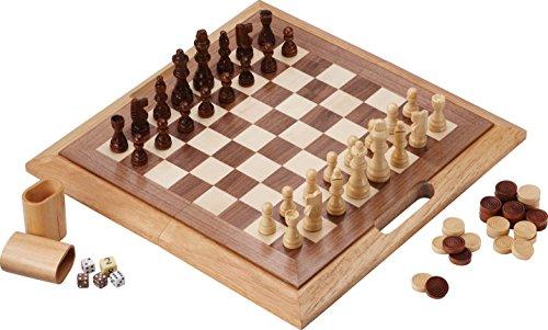 Mainstreet Classics Dutchman 3-in-1 Combo Folding Board Game Set - 512t7nO AxL - Mainstreet Classics Dutchman 3-in-1 Combo Folding Board Game Set