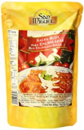 San Miguel Red Enchilada Sauce, 14 Ounce