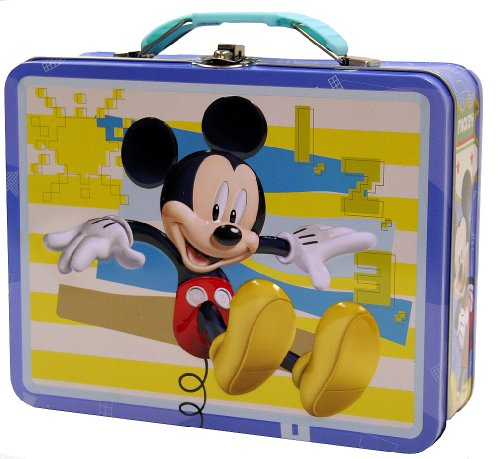 Mickey Mouse Tin Box Carry All - 1