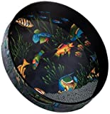 "Remo OCEAN DRUM®, 12"" Diameter, 2 1/2"" Depth, Fish Graphic"